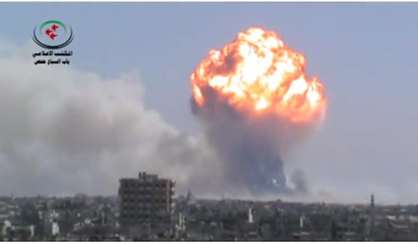 러시아의 시리아 군사개입, 진짜 이유는 '홈스'?