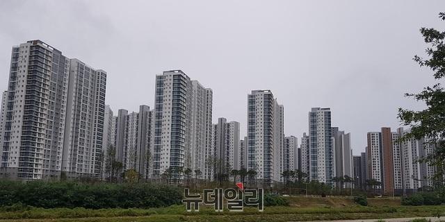 분양가 상한제 '풍선효과'…청주 미분양 아파트 크게 '감소'